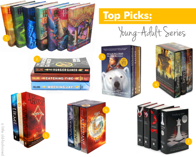 Top Selling Young Adult Novels