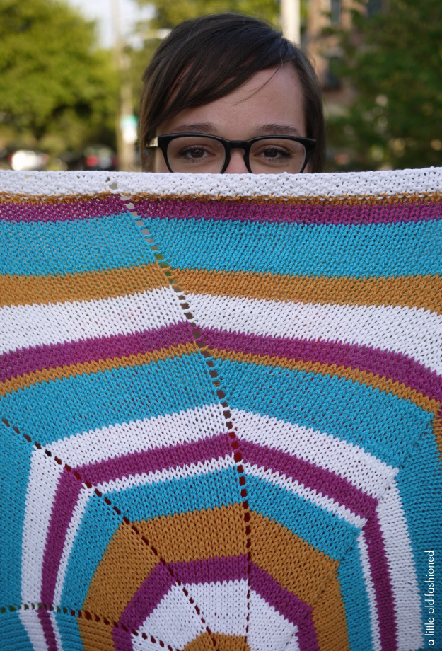 baby blanket | a little old fashioned